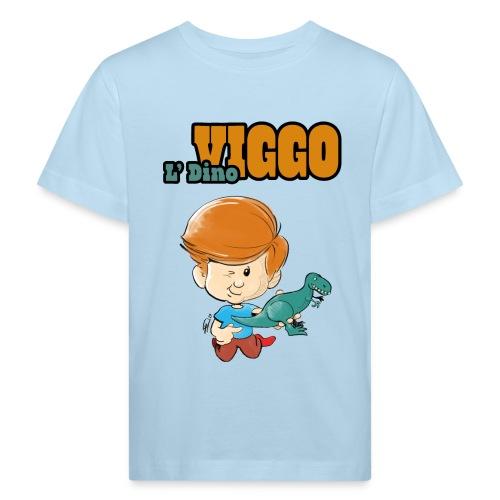 LDinoViggo Logo total - Organic børne shirt