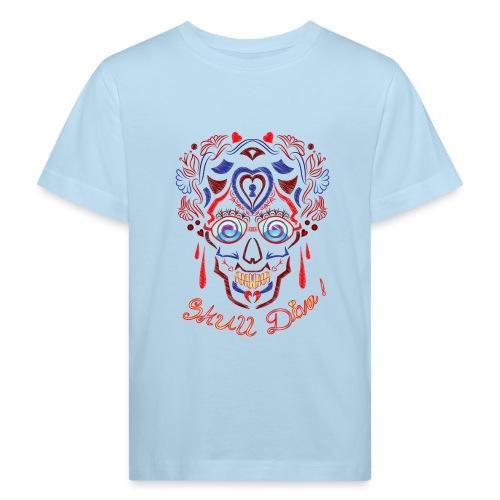 Skull Tattoo Art - Kids' Organic T-Shirt