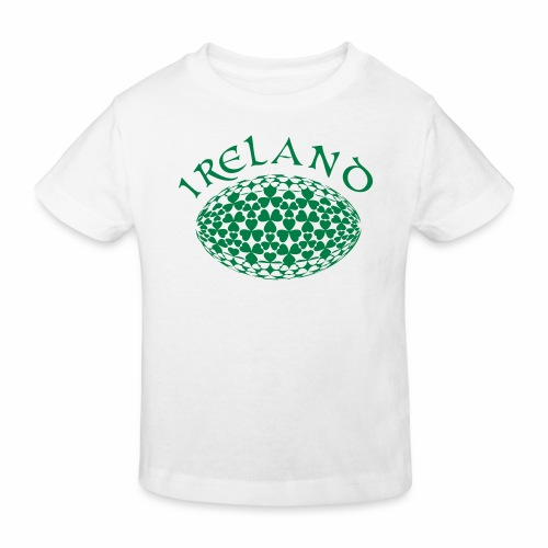 Ireland Rugby Ball - Kids' Organic T-Shirt