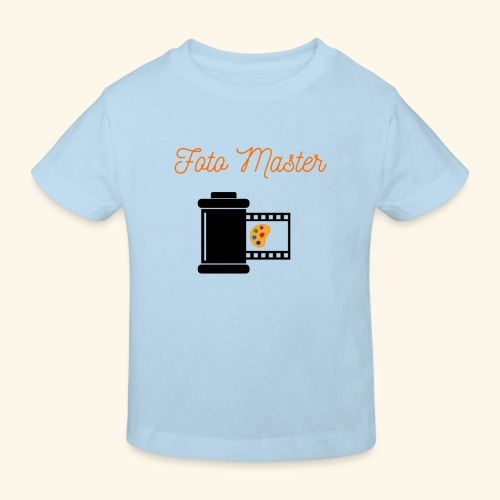 Foto Master 2nd - Organic børne shirt