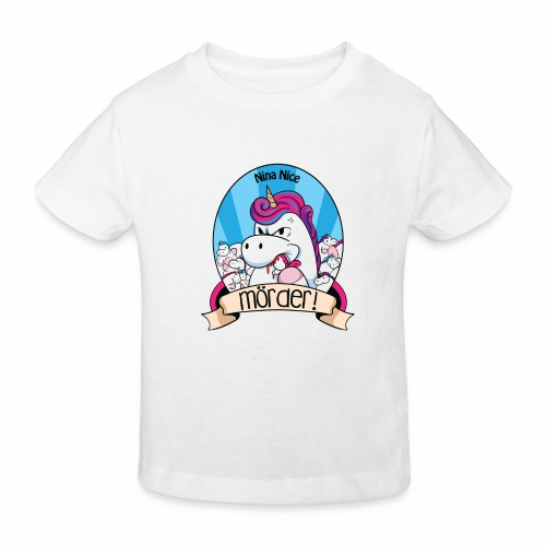 Murder Unicorn - Kinder Bio-T-Shirt