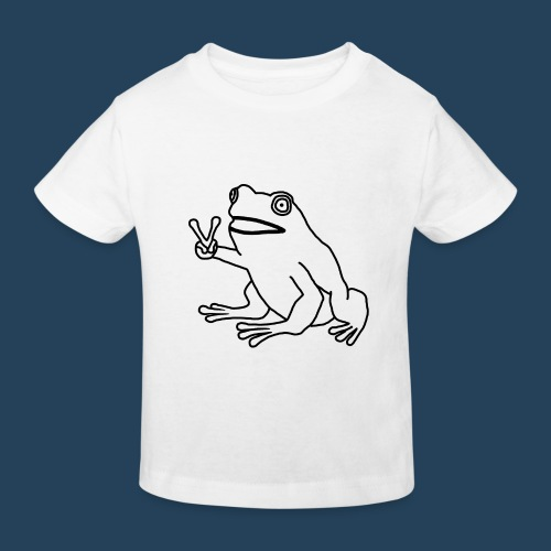 Frog Peace! by Cuerno - Kinder Bio-T-Shirt