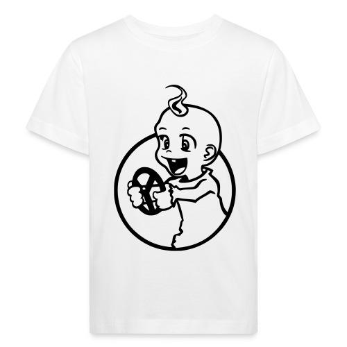 Der kleine Rennfahrer - Kinder Bio-T-Shirt