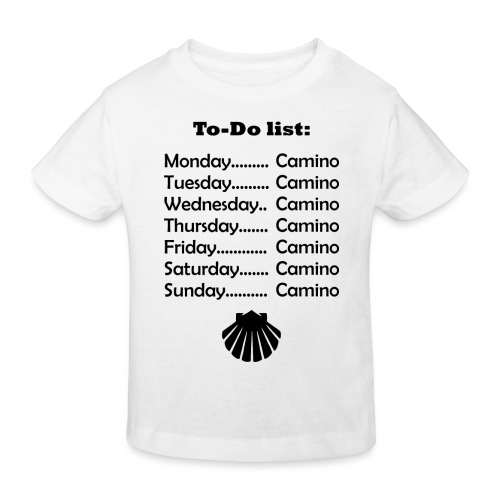 To-do list: Camino - Organic børne shirt