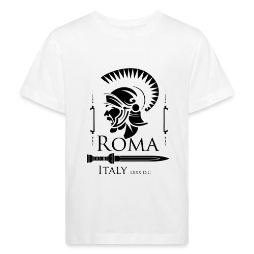 Legionario Romano con Elmetto - Maglietta ecologica per bambini