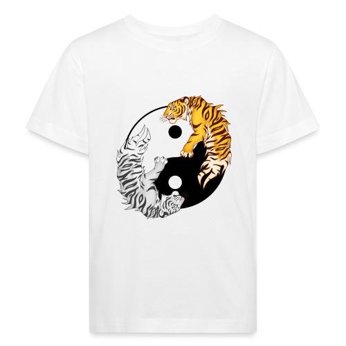 Yin & Yang Tigers - Ekologiczna koszulka dziecięca