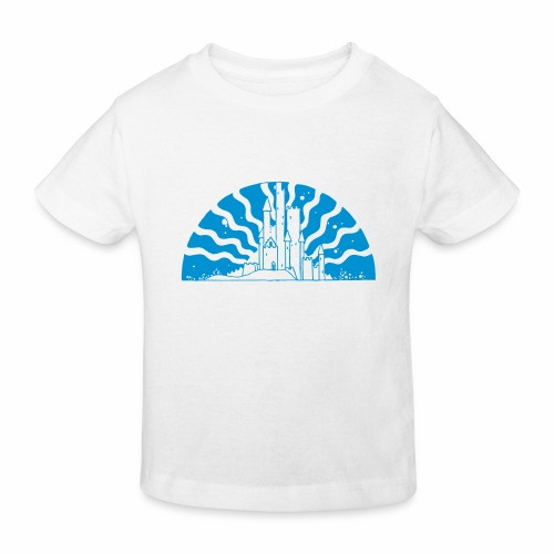 Fairytale Castle Sunrise - Kinder Bio-T-Shirt