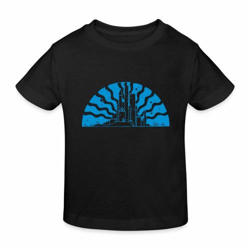 Fairytale Castle Sunrise - Kinder Bio-T-Shirt