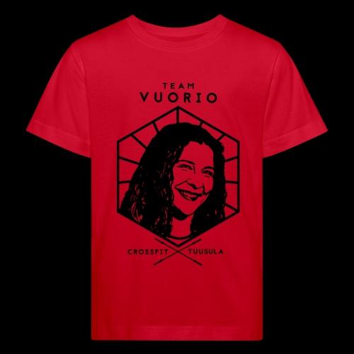 Vuorio WW 18 - Lasten luonnonmukainen t-paita