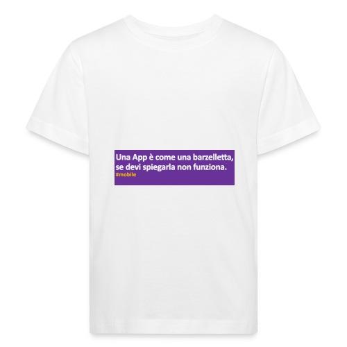barzelletta - Maglietta ecologica per bambini
