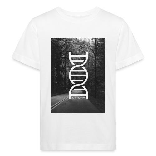 Fotoprint DNA Straße - Kinder Bio-T-Shirt