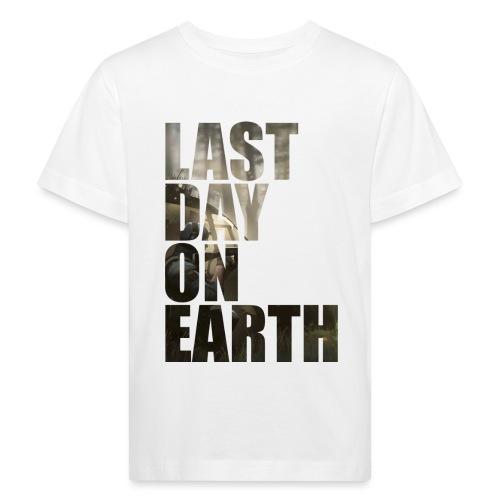 Último día en la tierra - Camiseta ecológica niño