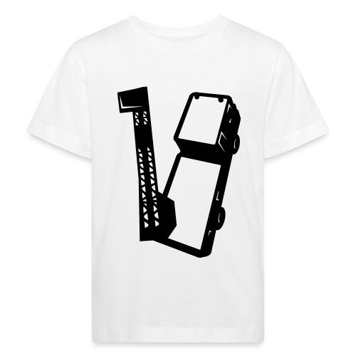camion_18_mono - T-shirt bio Enfant