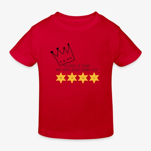 The Kings of Rugby (Kids) - Kids' Organic T-Shirt