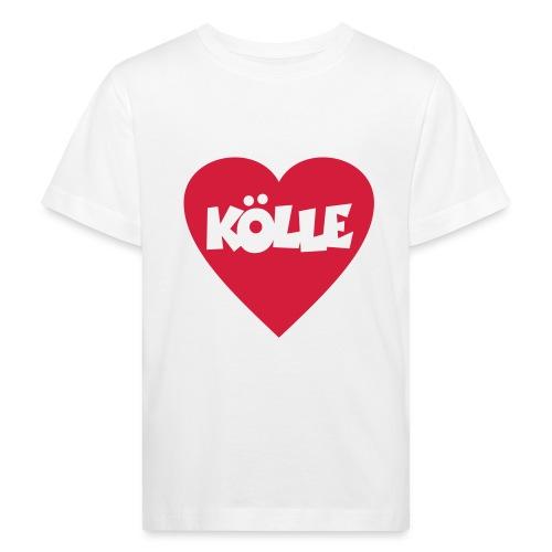 I Love Kölle - Ein Herz für Köln - Kinder Bio-T-Shirt