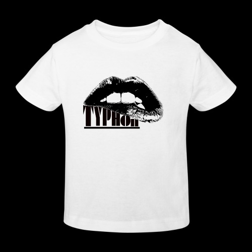 Typhon Original Logo - Kids' Organic T-Shirt
