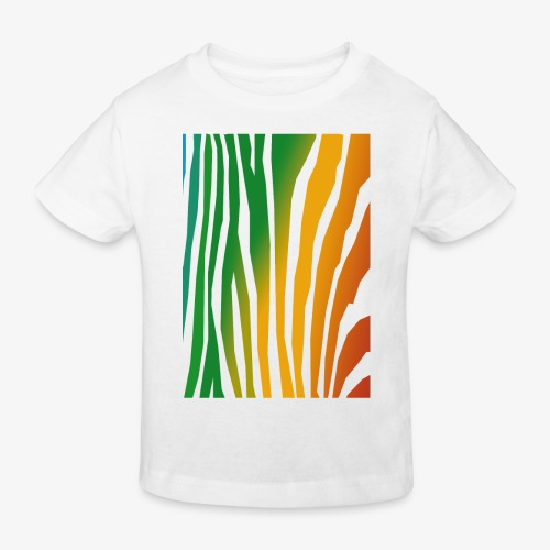 zebralong png - Ekologisk T-shirt barn