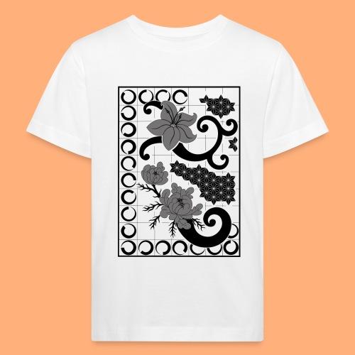 fleurs et graphisme - T-shirt bio Enfant