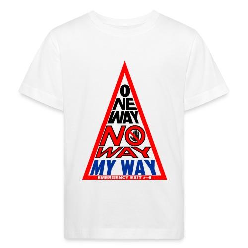 No way - Maglietta ecologica per bambini