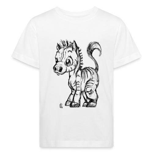 zebre - T-shirt bio Enfant