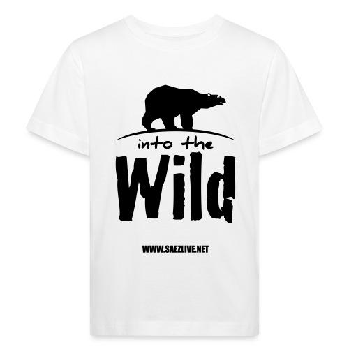 Into the wild (version dark) - T-shirt bio Enfant