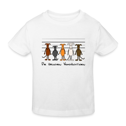 Die üblichen Verdächtigen - Kinder Bio-T-Shirt