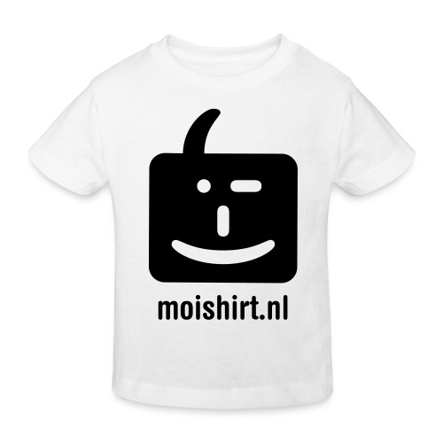 moi shirt back - Kinderen Bio-T-shirt