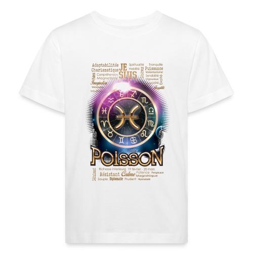 POISSONS - T-shirt bio Enfant