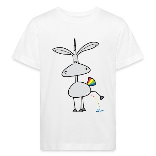 Dru - bunt pinkeln - Kinder Bio-T-Shirt