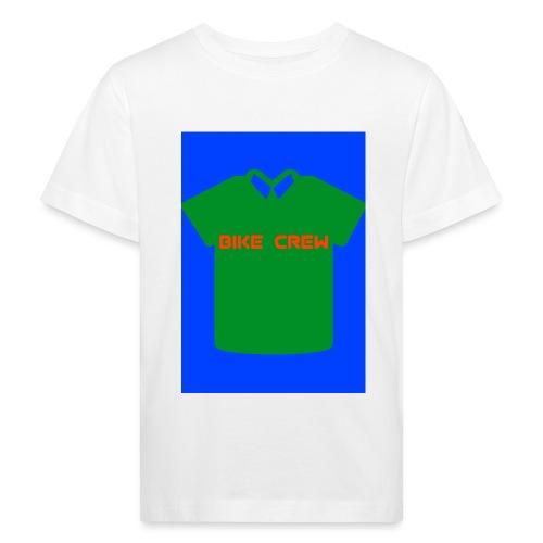 Bike Crew Merch (grün) - Kinder Bio-T-Shirt