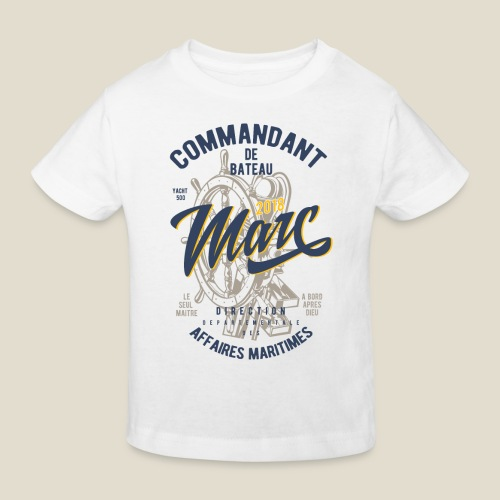 Commandant Marc - T-shirt bio Enfant