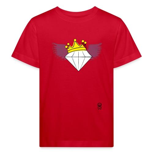 King Diamond Wings - Kids' Organic T-Shirt