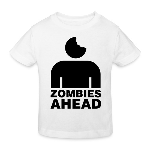 Zombies Ahead - Ekologisk T-shirt barn