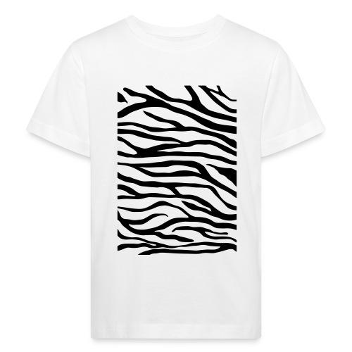zebra v6 - Kinderen Bio-T-shirt