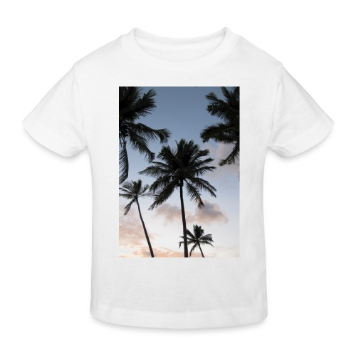 PALMTREES DOMINICAN REP. - Kinderen Bio-T-shirt
