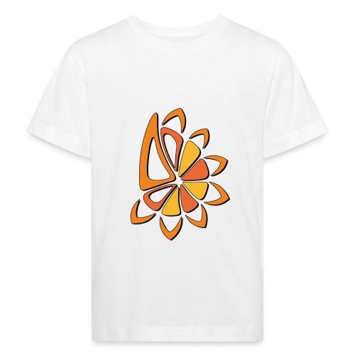 spicchi di sole caldo multicolore - Maglietta ecologica per bambini
