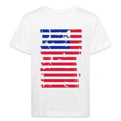 FlagUSA Casual - Camiseta ecológica niño