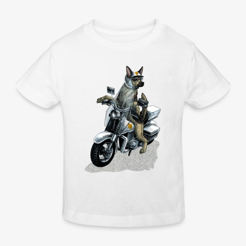 Police Dog - Kids' Organic T-Shirt