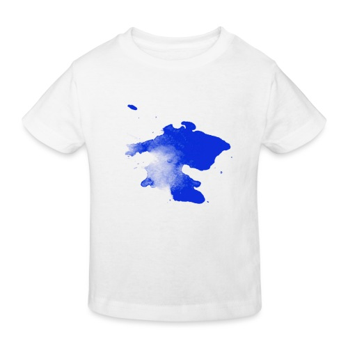 ink splatter - Kids' Organic T-Shirt