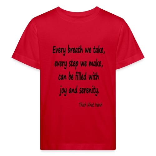 24/7 Peace - Kids' Organic T-Shirt