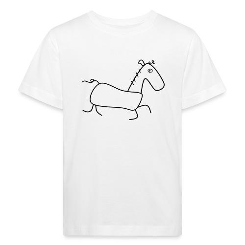 Das Pferd Günther - Kinder Bio-T-Shirt