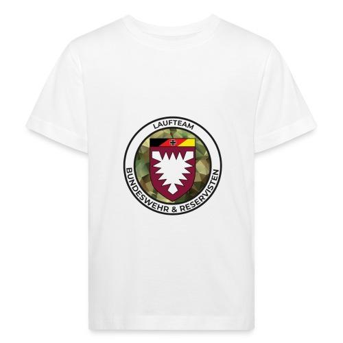 Logo des Laufteams - Kinder Bio-T-Shirt