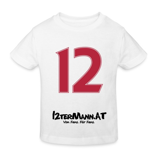 12termann mitfans - Kinder Bio-T-Shirt