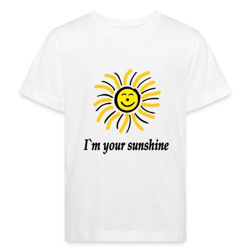 2i m youre sunshine Gelb Top - Kinder Bio-T-Shirt