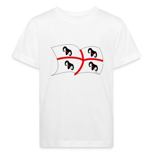 Bandiera breiter1600 - Kinder Bio-T-Shirt