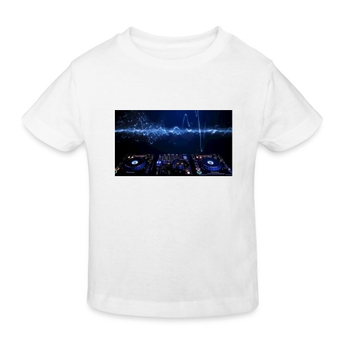 muziek - Kinderen Bio-T-shirt