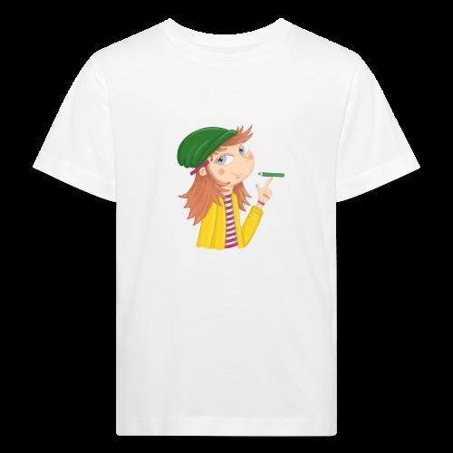 Ich bin eine Illustratorin - Kinder Bio-T-Shirt