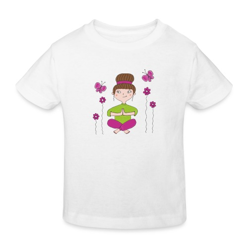 Bine - Meditation - Kinder Bio-T-Shirt
