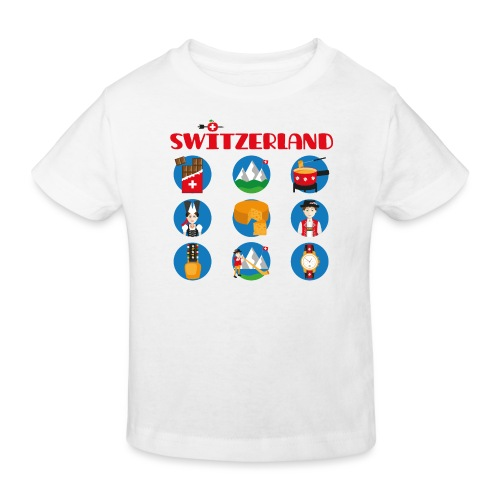 Switzerland - Kinder Bio-T-Shirt