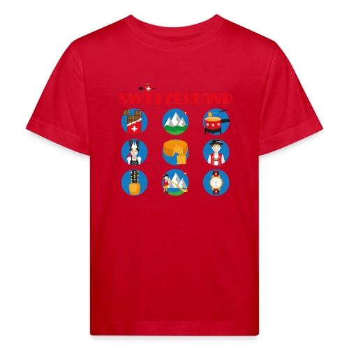 Switzerland - Kinder Bio-T-Shirt